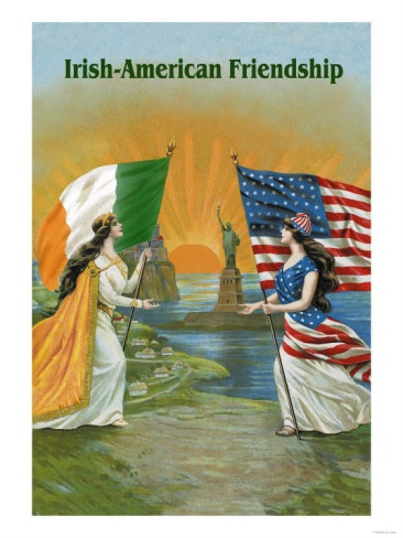 Irish-American Friendship- There's nothing quite like being an Irish-American! ;)