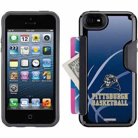University of Pittsburgh Basketball Design on Apple iPhone 5SE/5s/5 CandyShell Card Case by Speck