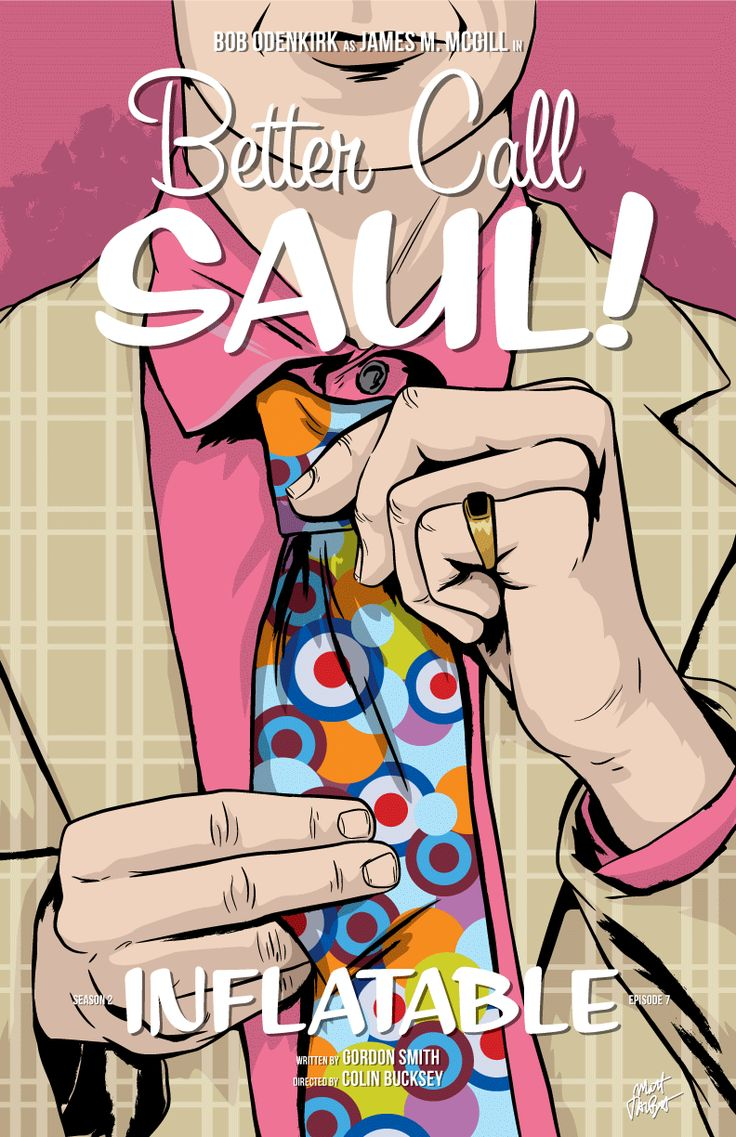 Better Call Saul Episode 2x07 Poster, Inflatable | by Matt Talbot