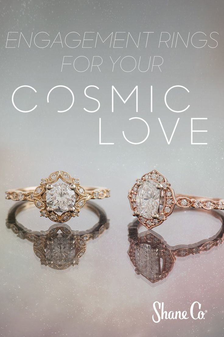 Any woman will love saying 'yes' to one of these vintage-inspired rings.