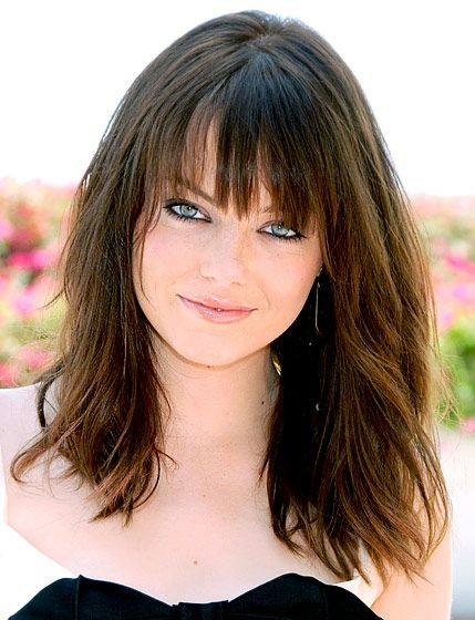 Emma Stone's Hair Evolution: July 25, 2009 - a little texture