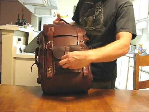 make your own leather Backpack, page 1                                                                                                                                                                                 More