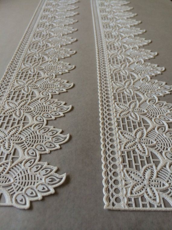 Amazing edible sugar lace #cakelace #clairebowman #thefancythings
