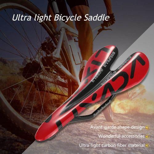 LIXADA Full Carbon Fiber Mountain Bike Road Bike Cycling Cushion Saddle Bicycle Seat
