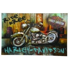 29 best harley-davidson wall decor images on pinterest | wall