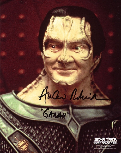Andrew Robinson as the Cardacian, Garek | Star Trek Deep Space Nine #startrek