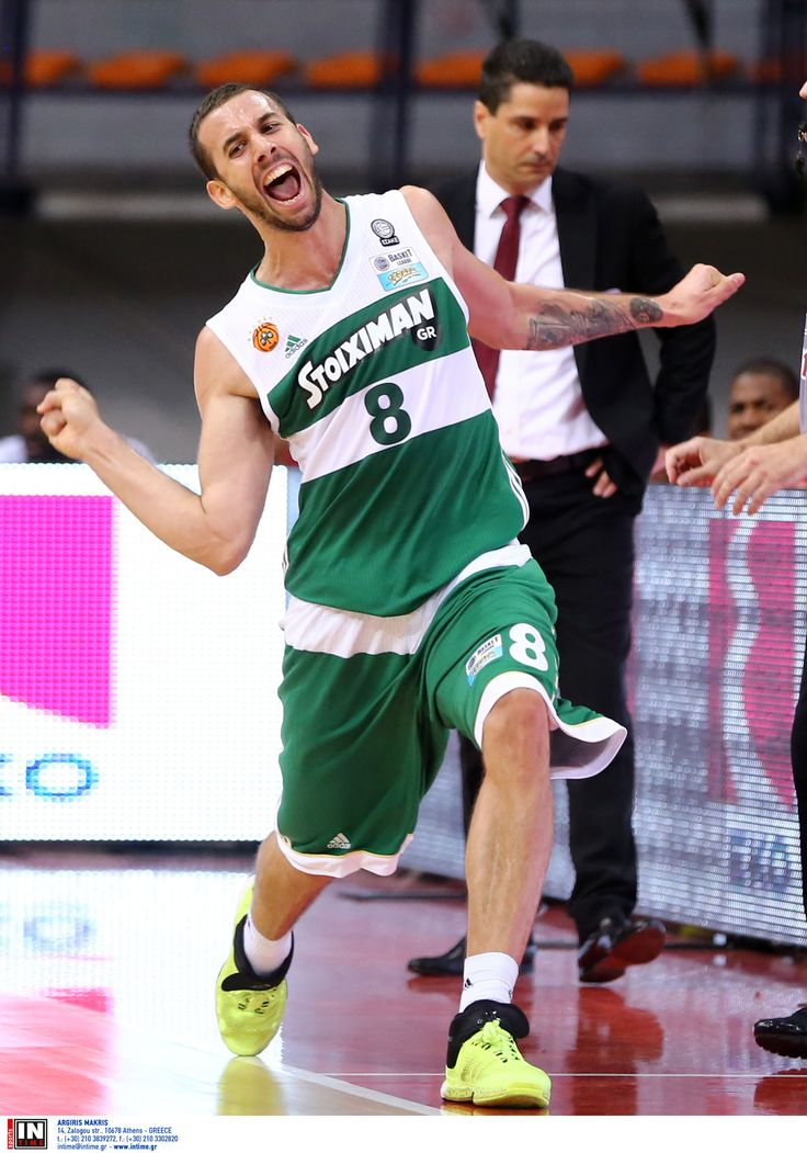 Ο παίκτης του Παναθηναϊκού Γιάνκοβιτς στον αγώνα μπάσκετ για το κύπελλο Ελλάδος.