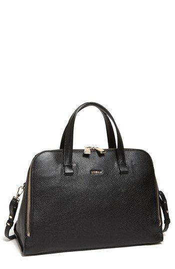 Furla medium leather satchel