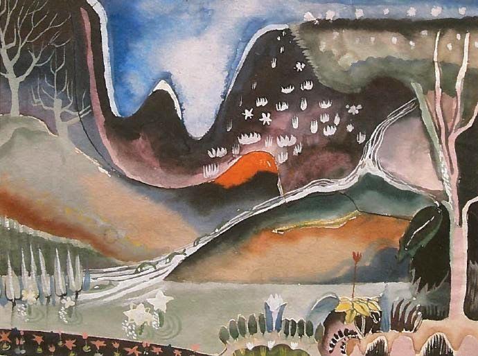Tove Jansson - maalaus, 1930-luku