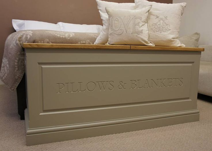 Blanket Box By Chatsworth Cabinets | Notonthehighstreet.com
