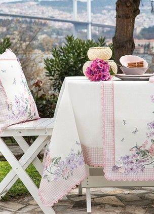Home Sweet Home Di Fiore Masa Örtüsü 160 x 240 cm. Online Satın Al | Home Sweet Home | Markafoni