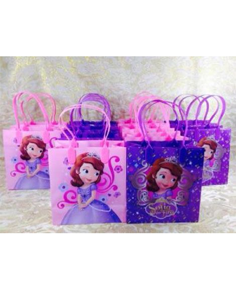 Plastic gift bags 25 pinterest sofia the first princess plastic gift bags with handles negle Image collections