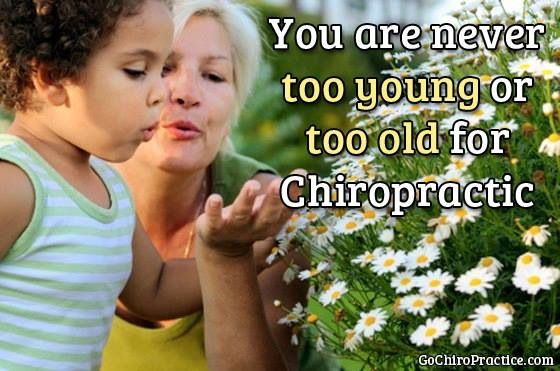 Chiropractic is for EVERYONE!!! You are never too young or too old for chiropractic. Call us today!! Advanced Healthcare - 411 E Roosevelt Rd Wheaton, IL 60187 - 630.260.1300 - advancedhealth.us