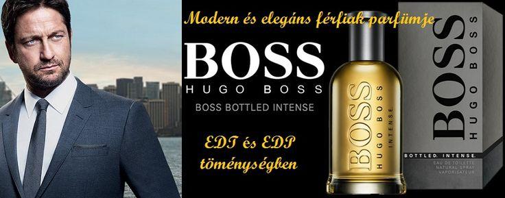 Hugo Boss Boss Bottled Intense férfi parfüm EDP És EDT Töménységben!  Modern és elegáns férfiak parfümje.   http://www.parfumdivat.hu/parfumdivathazak/hugo-boss-boss-bottled-intense-ferfi-parfum.html