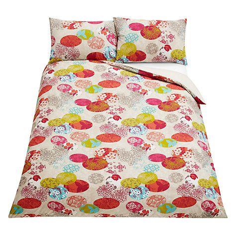 Buy John Lewis Blossom Bedding, Multi Online at johnlewis.com