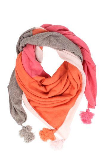 cute stuff Cashmere-Schal mit Quasten bei myClassico - Premium Fashion Online Shop