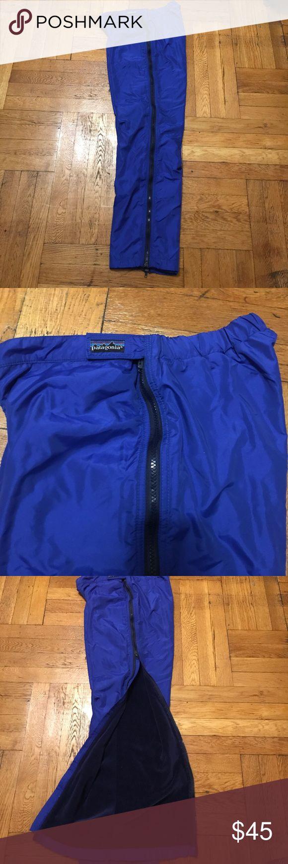 Vintage Patagonia ski pants Extremely warm ski winter pants. Zip on sides. Patagonia Pants
