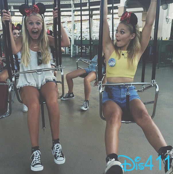 Photo: Olivia Holt Had Fun At Disneyland Resort
