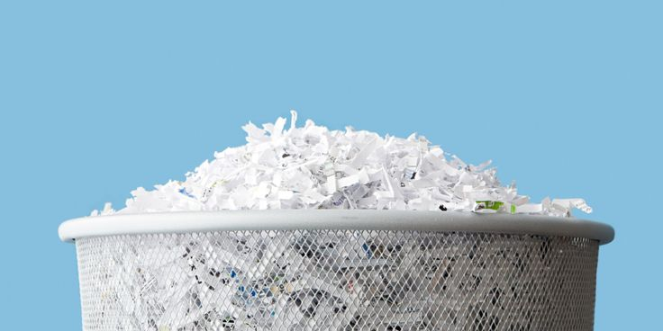 Shred These Documents, Right Now  - CountryLiving.com