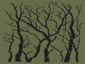 hunting camouflage pattern stencils | hunting stencil added in paint hunting camo stencils unusual ...