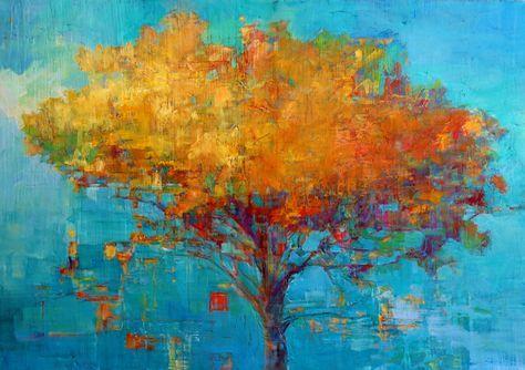 """Fire Tree #2"" Elizabeth Washburn"