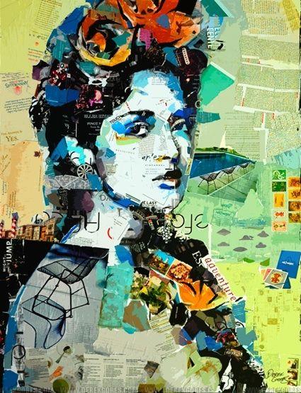Derek Gores - Melbourne, FL Artist - Collage Artists - Featured - Artistaday.com