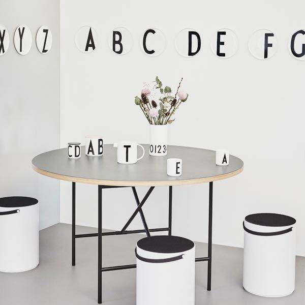 Arne Jacobsen plates by Design Letters.