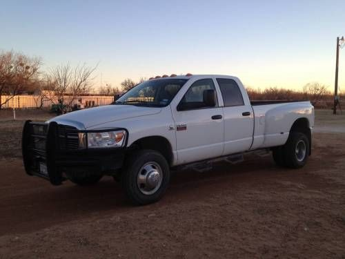 2008 Dodge Ram 3500 SLT Quad Cab Dually 4WD for Sale - For more information click image or see ad # 29909 on www.RanchWorldAds.com