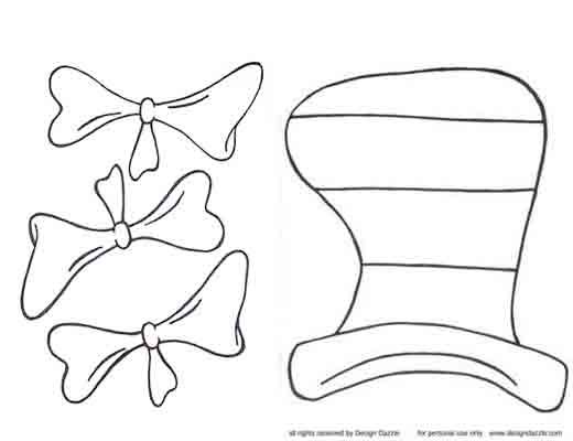 Cat in the Hat Printables | This Cat in the Hat pattern is FREE and available for immediate ...