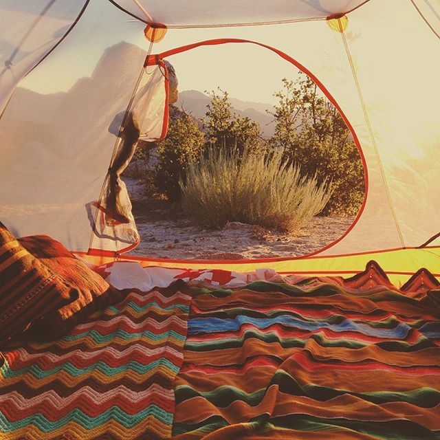 Glamping and luxury backpacking over at http://luxurybackpack.com/