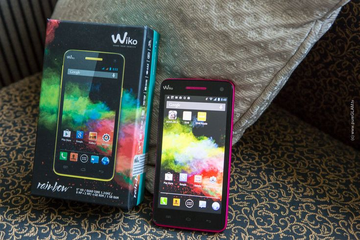 Giveaway – Smartphone Wiko Rainbow pink – Gewinnspiel