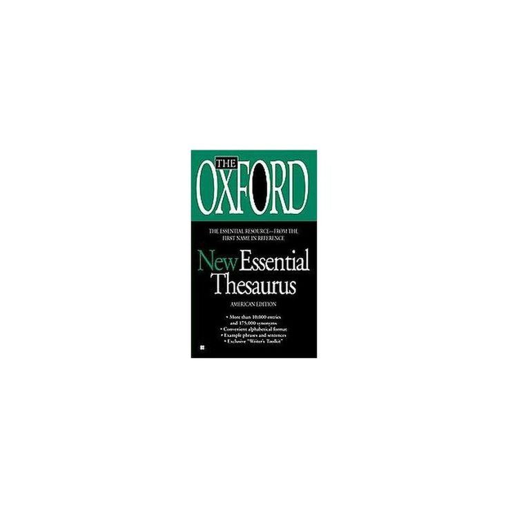 Oxford New Essential Thesaurus : American Edition (Paperback)