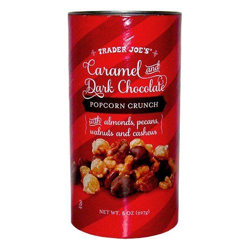 Trader Joe's Caramel and Dark Chocolate Popcorn Crunch - http://bestchocolateshop.com/trader-joes-caramel-and-dark-chocolate-popcorn-crunch/