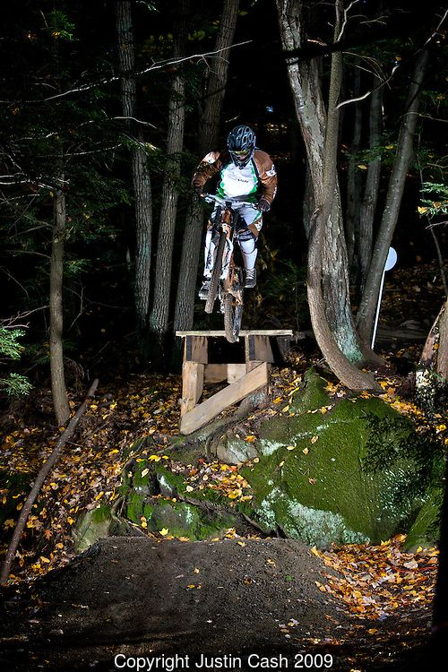 Mountain Bike Cliff Ride