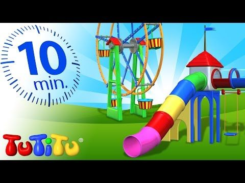 TuTiTu Specials | Playground Toys for Children | Carousel, Ferris Wheel and More! - YouTube
