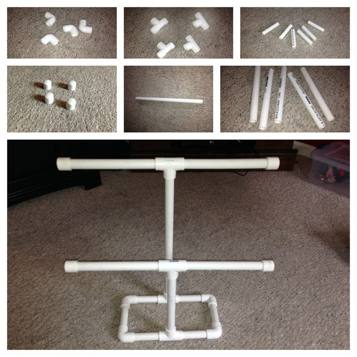 PVC Craft Show Display For Hanging Items - Dealin and Dishin