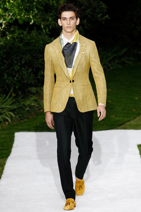 Berluti | Spring 2015 Menswear Collection | Style.com Great overall look and color combo.