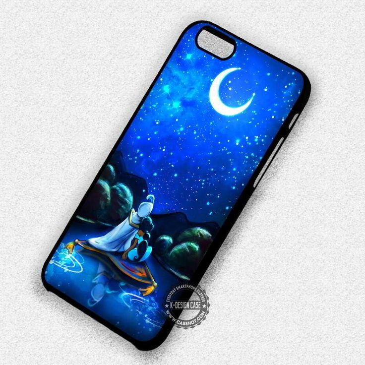 Couple Underneat The Moonlight Jasmine Aladdin - iPhone 7 6s 5c 4s SE Cases & Covers