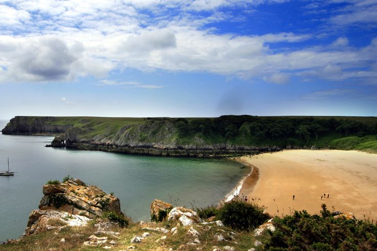 Barafundle Bay, United Kingdom :)