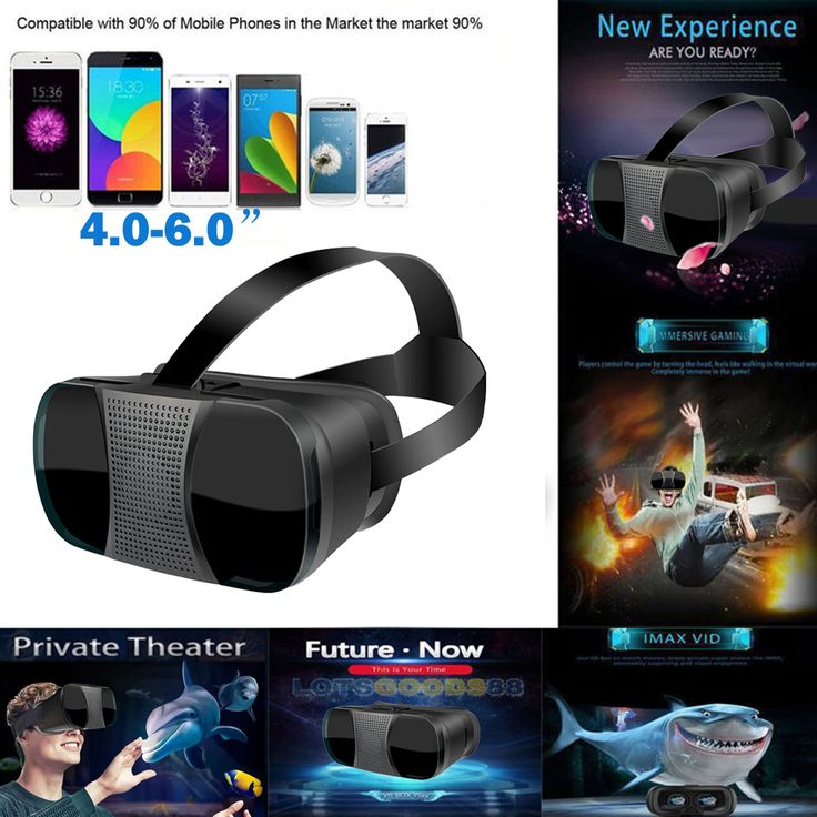 VR5000 Universal 3D VR Glasses Virtual Reality Game Movie Headset For iPhone 7/7 Plus/Android 4-6'' Smart Phone