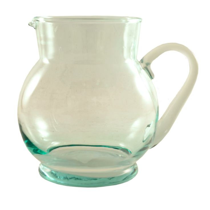 Clear Glass Cocktail Jug