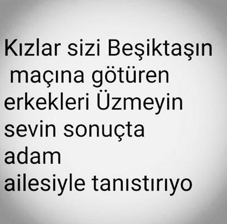Bunu çok sevdim :) Beşiktaşlı sevmek budur
