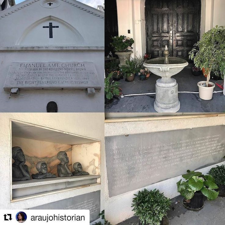 #Repost @araujohistorian (@get_repost)    Denmark Vesey PRESENT: memorial at Mother Emanuel AME Church. Have to find out the date. #slaveryarchive http://ift.tt/2sxt2uL Follow #ADPhD on IG: @afrxdiasporaphd #ADPhD #ADPhDTumblr