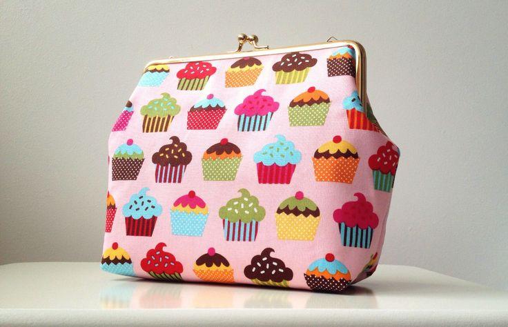 "Poseta Clutch ""Sweet Cupcakes"""