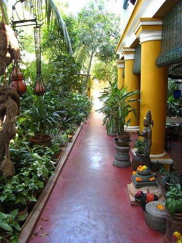 Colonial homestay, Ethnic Indian Décor, homestay, Homestay hotels of India, Indian Inspired Decor, Pondicherry homestay