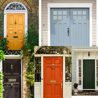Front door paint color options!