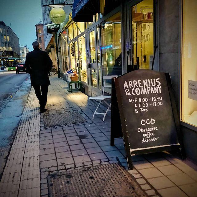 Inte bara kaffe. Intressant kunnigt och personligt hos @arreniuscompany. Vad tycker ni bra att kunna handla Pekoe på stan i Uppsala?
