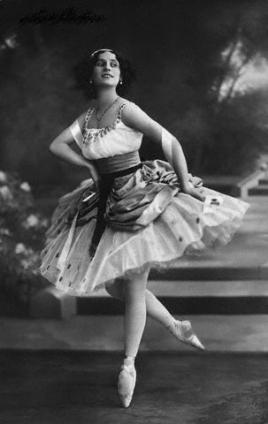Anna Pavlova 1912
