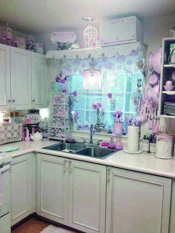 Shabby Chic Kitchen Decor Ideas