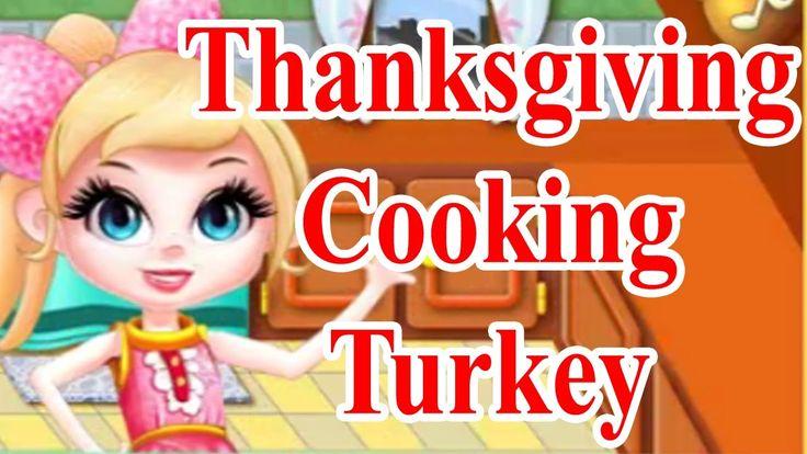Barbie Games Thanksgiving Cooking Turkey